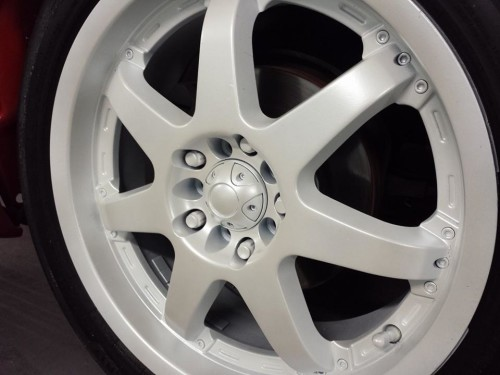 Pearl White Dipped Rims