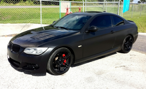 Satin Black Full Body Dip