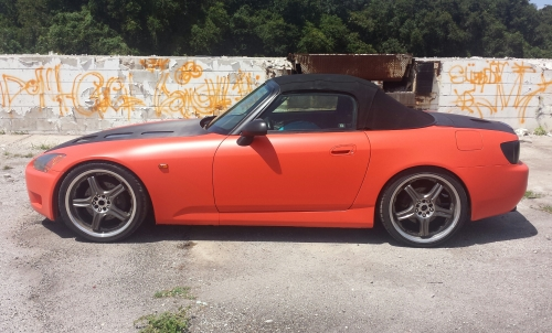 Koi Orange Dipped S2000