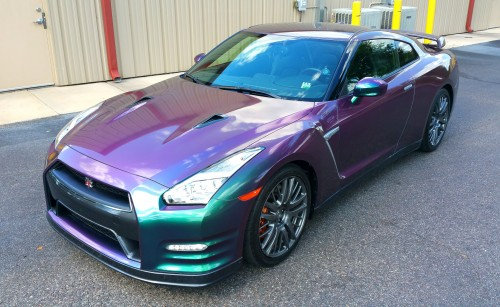 GTR in our Color Changing High Gloss Removable Paint Coatings