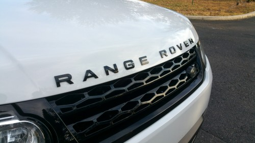 Gloss Black Range Rover Emblems