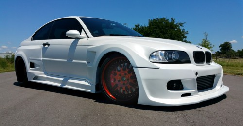 This car was featured in the Gran Turismo Video Game, we had the opportunity to Dip it Pearl White