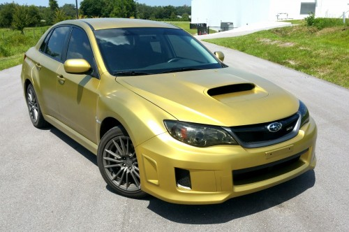 Custom Gold Mix on our customers WRX, and Tinted Lights