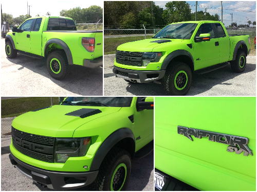 Electric Green Dipped Raptor